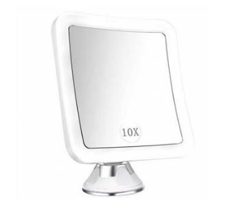elfina magnifying led lighted shaving mirror