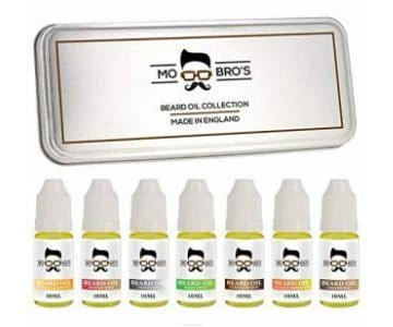 mo bros beard oil sample pack